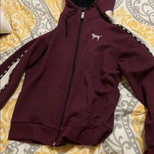 A PINK zip up hoodie